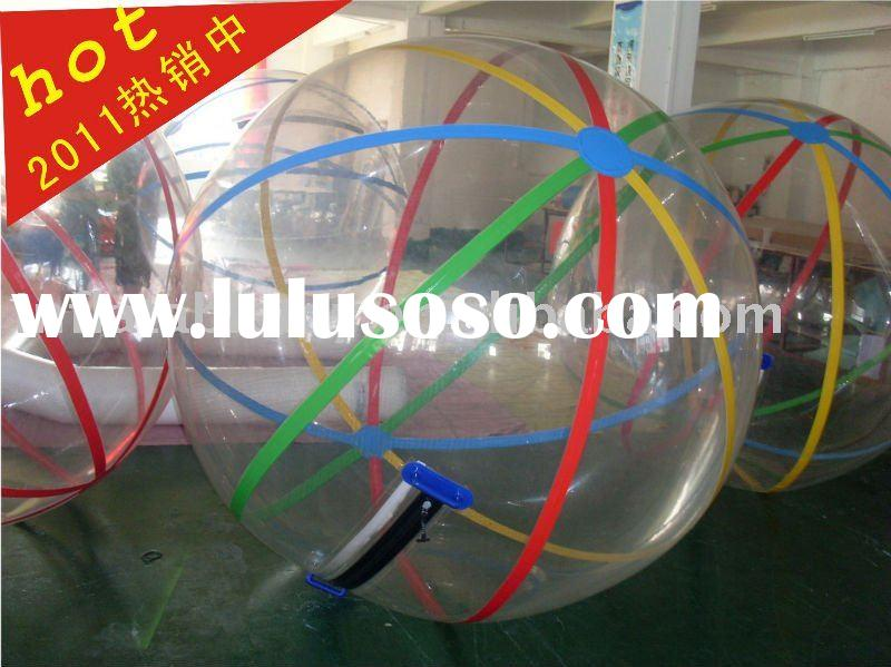 TPU/PVC inflatable water walking ball ,walk on water ball