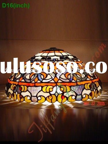 Tiffany Stained Glass Lamp Shade-LS16T000390