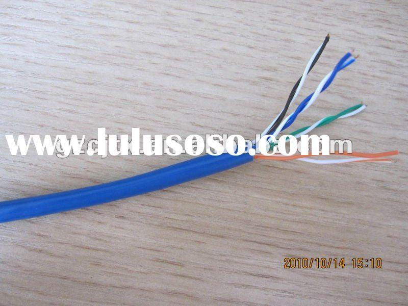 UTP Cat5e shiled cable CCA+CCS CAT5E CABLE