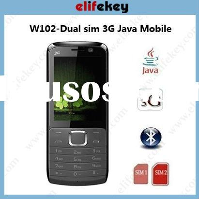 W102 UMTS 3g dual sim phones video call