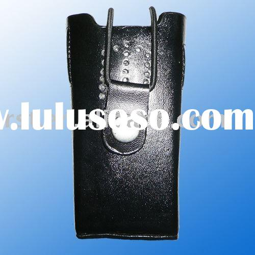 Walkie-Talkie Leather Case TK3107 walkie talkie leather case 2 way radio leather case