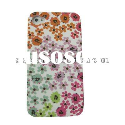 Water transfer printing case for iphone 4