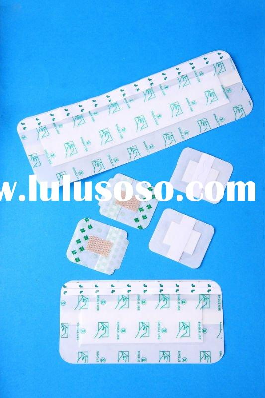 Waterproof and Transparent Wound Dressing with Absorbent Pad Wound Dressing