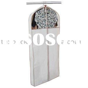 White Dance garment bag with pockets,PVC window