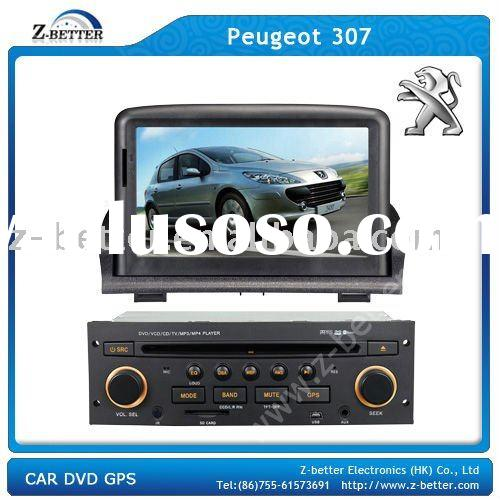 (Superior Price!!) 7 in DVD players car for Peugeot 307 with GPS,DVB-T,Radio,Bluetooth