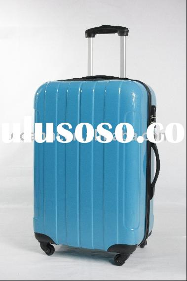 (p-8005) travel trolley luggage abs case