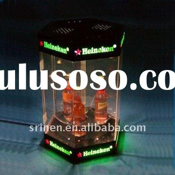 acrylic heineken beer display case PMMA beer box