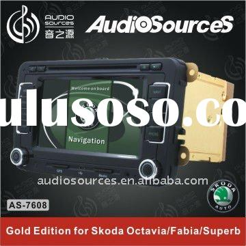 car dvd player for Skoda