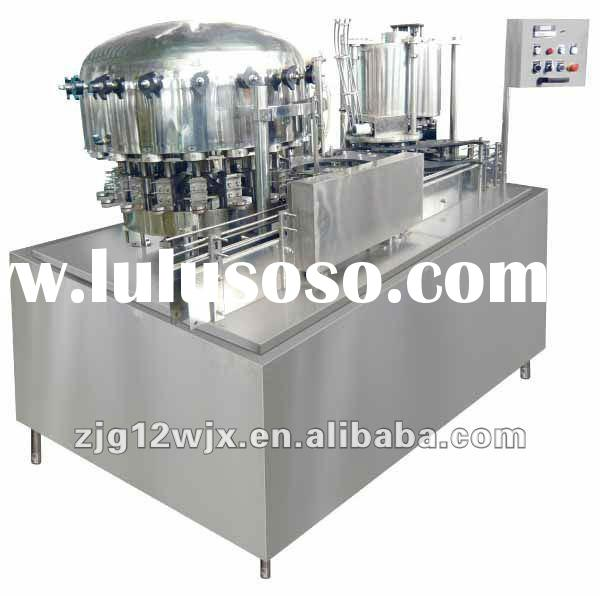 carbonated can filling and sealing machine