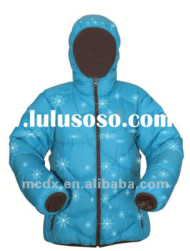 china trendy winter warm puff down jacket for man