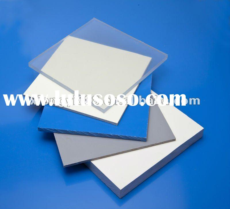 clear rigid pvc sheet
