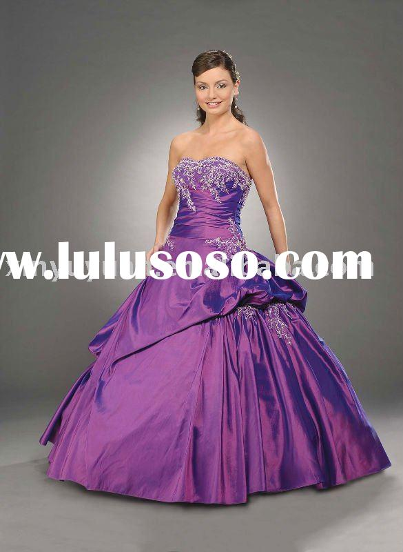 designer ball gown style hot sale 2011 quinceanera dresses BOQ-018
