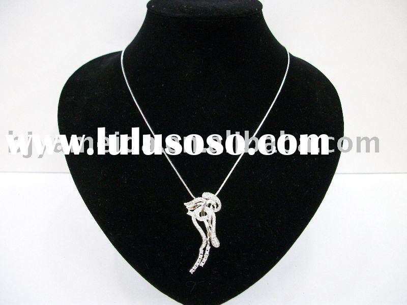 fashion jewelry;hand made necklace,diamond necklace designs