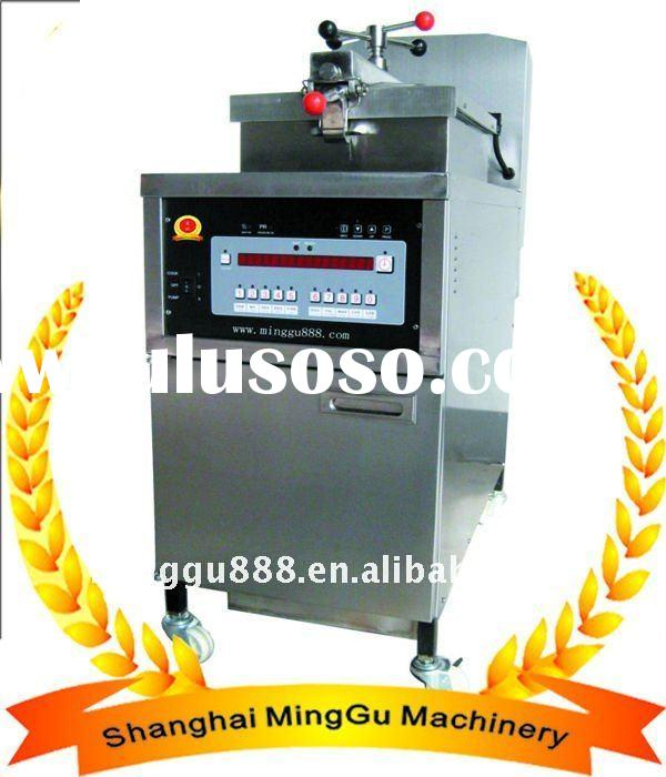gas pressure fryers with oil pump (CE,manufacturer)