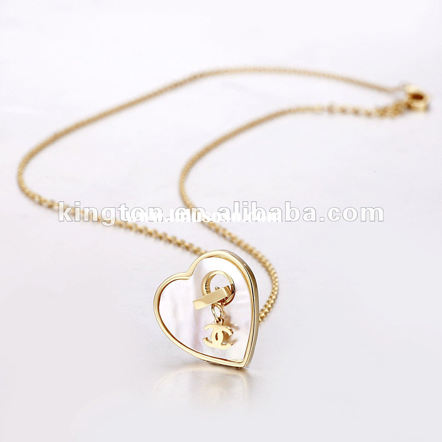 gold jewelery pendant necklaces for men
