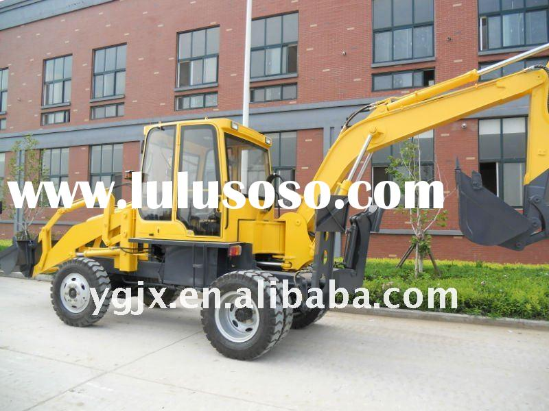 mini wheel backhoe loader for sale
