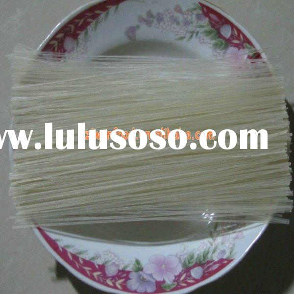 natural food thin rice noodles without any additive