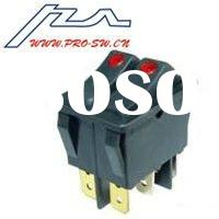 on-off illuminated rocker switch for electric water heater t85 manufacturer in china