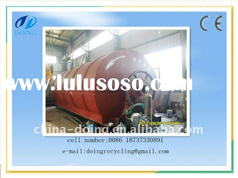 plastic bottle recycling machine to oil