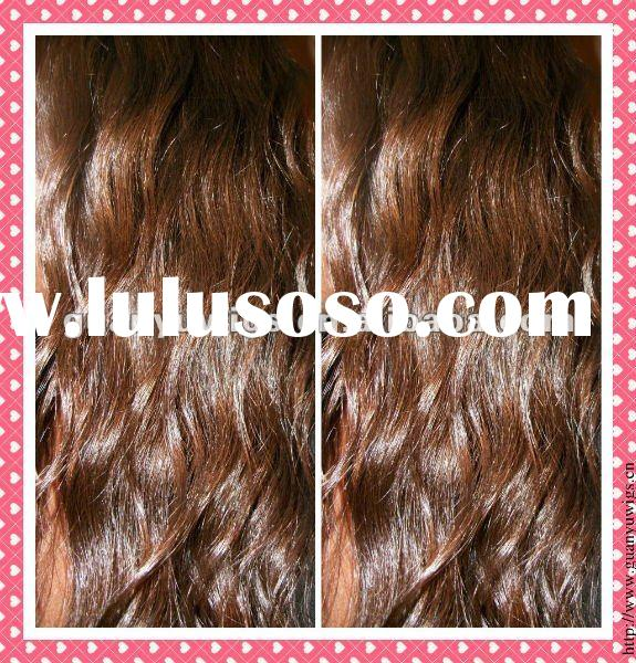 100% human hair Indian remy hair extension