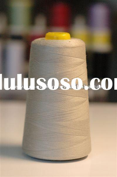 100% spun cone thread/polyester sewing thread