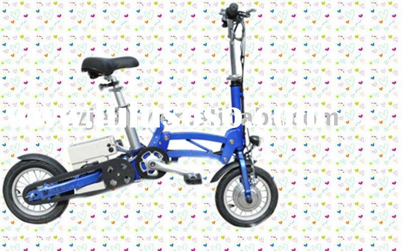 12 inch wheel 36V/7ah li-battery electric folding e bike