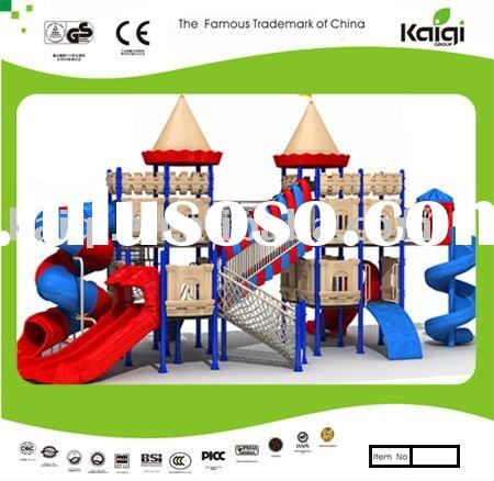 2011 Latest Big Outdoor Playground Equipment-Castle theme