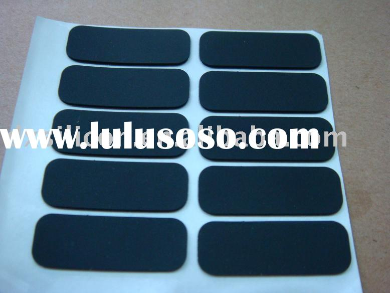 2012 Customed adhesive silicone rubber foot