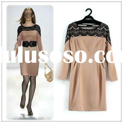 2012 fashion junior spring dress for women