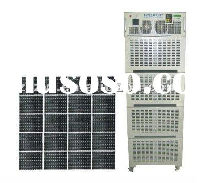 2012 off grid hybrid solar wind power system