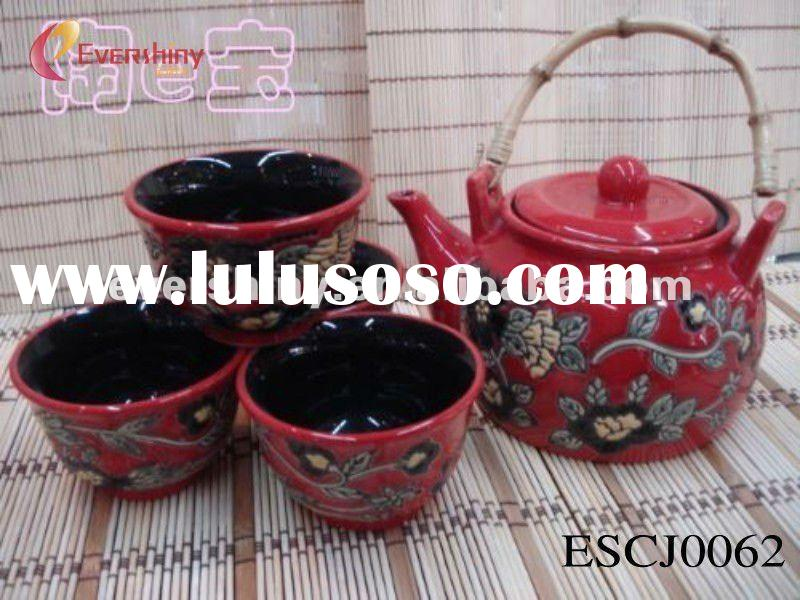 2012 promotional german tea sets with handle