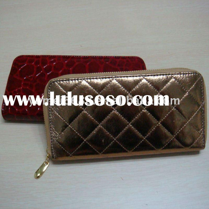 2012 special designer golden designer brand name wallets