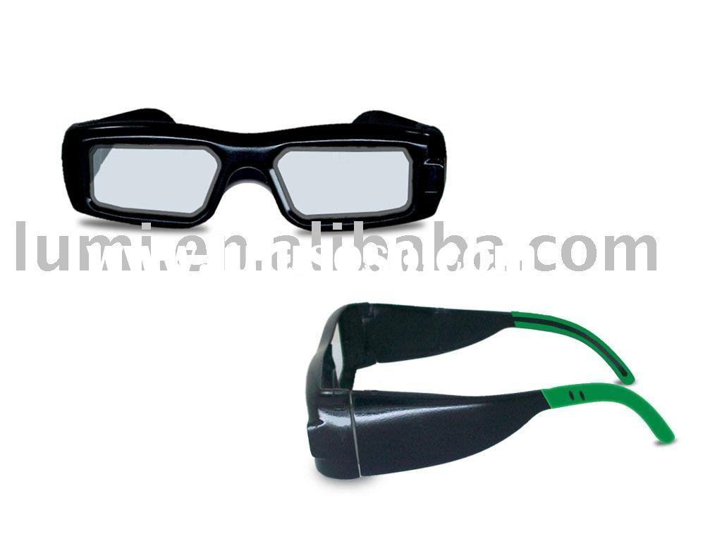 3D active shutter glasses for Universal version