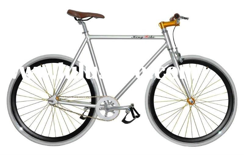 700C Fixed gear bike,Alloy frame,43MM deep V double alloy rim(KB-700C-01)