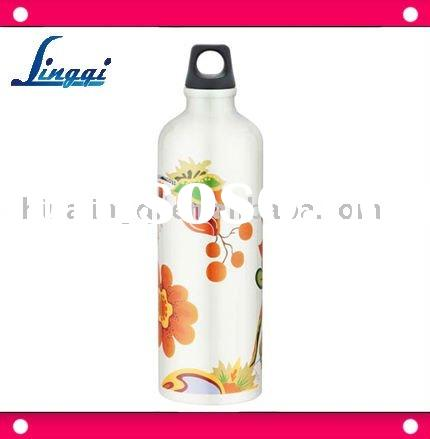 750ml BPA FREE design aluminum water bottle with twist-up top/best price