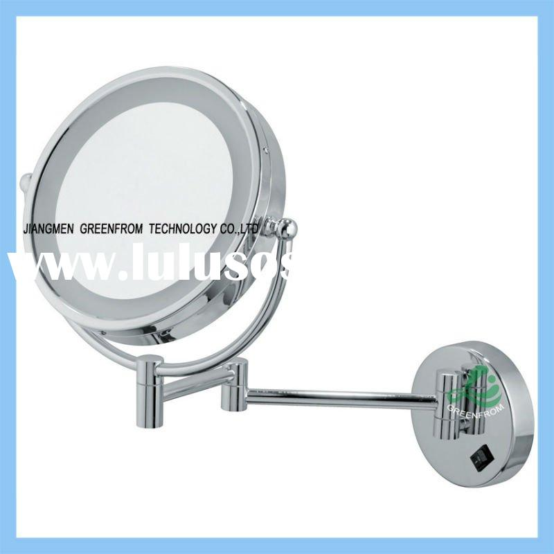 8.5 inch wall mounted led bathroom mirror