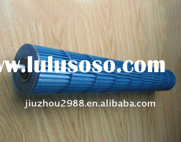 9.2x64.5cm cross-flow blade for air conditioner, blower wheels for mini splits air conditioning fan