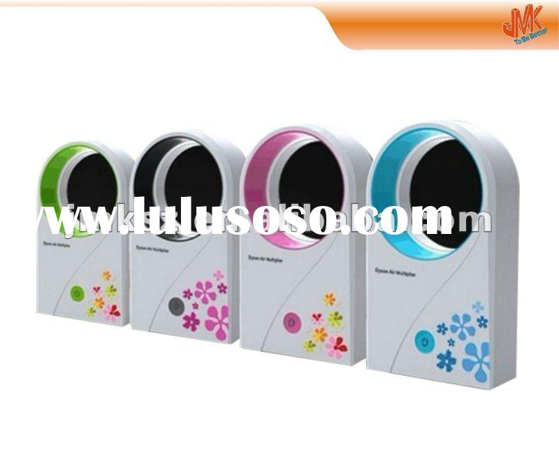Bladeless mini fan no leaf air condition usb /battery charging