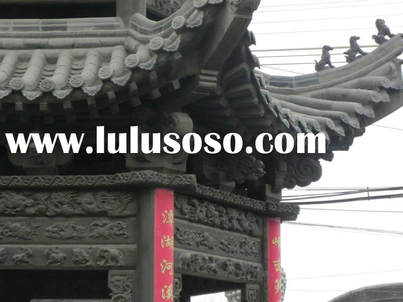 glazed roof tiles for buddhist temples