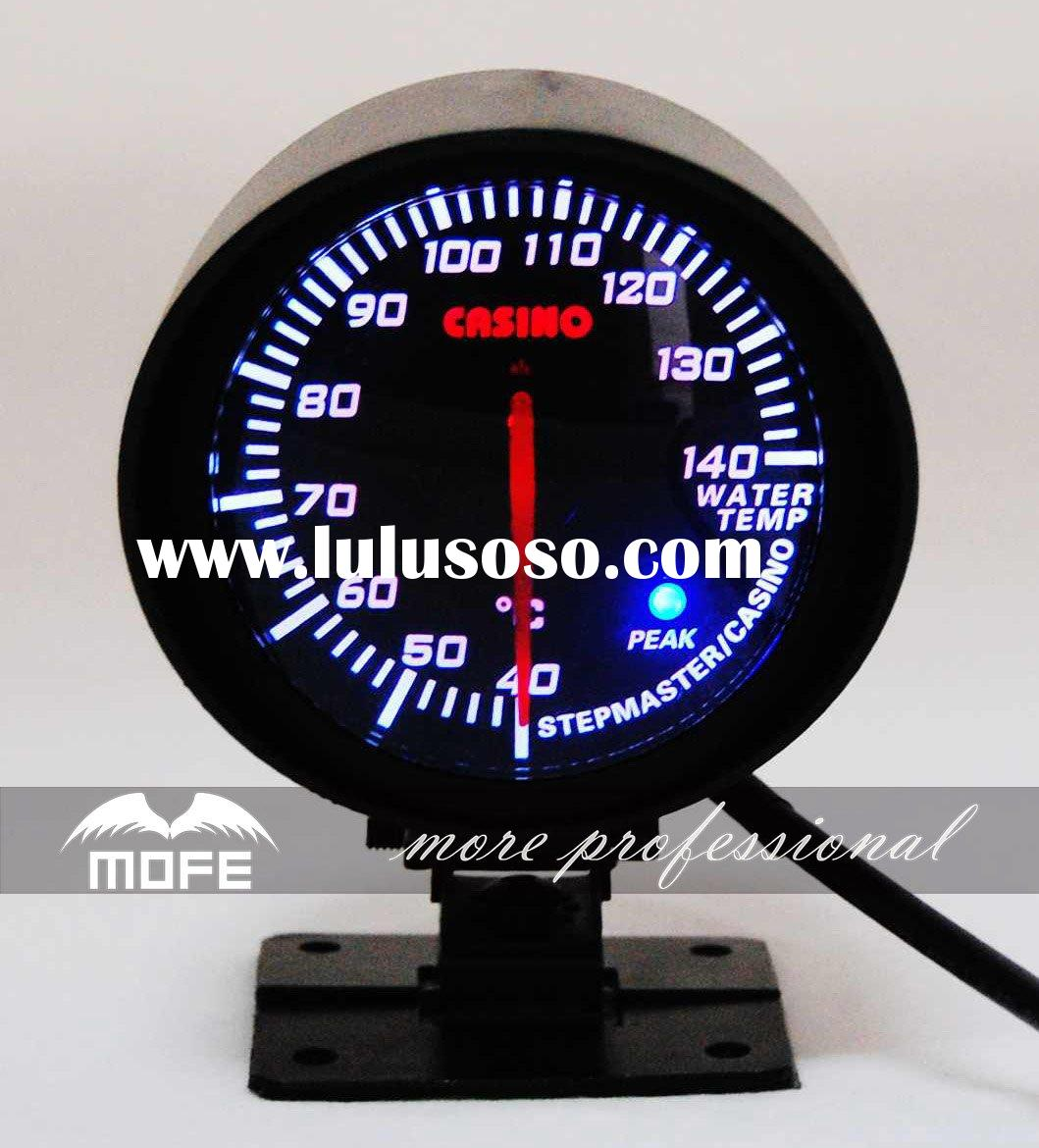 Casino auto gauge water temp meter