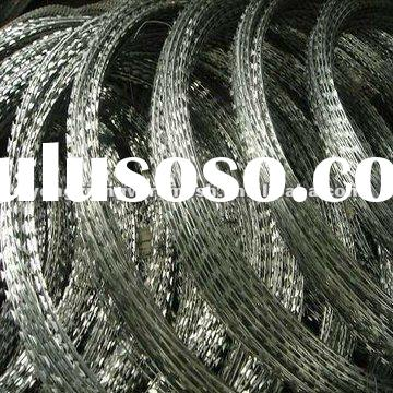 Commpetitive Price Of Razor Blade Barbed Wire Manufacture