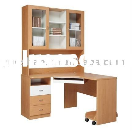 Computer table for home or office with bookcase K001