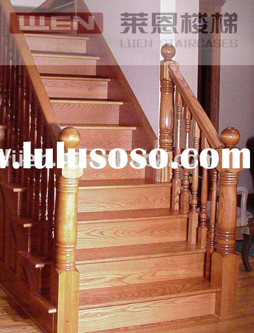 Costume Gamia Oak Wooden Stairs,Colino Straight Stairs