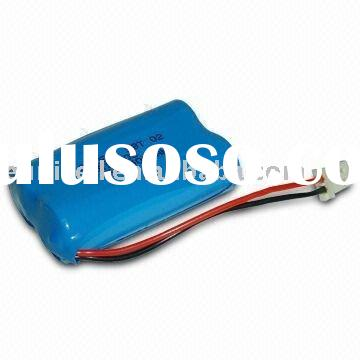 ER14505 AA 3.6V LiSOCL2 primary lithium thionyl chloride battery with lead wire 2400mAh battery