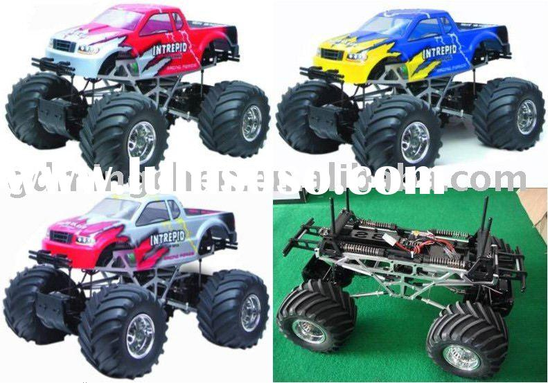 Electric RC monster truck