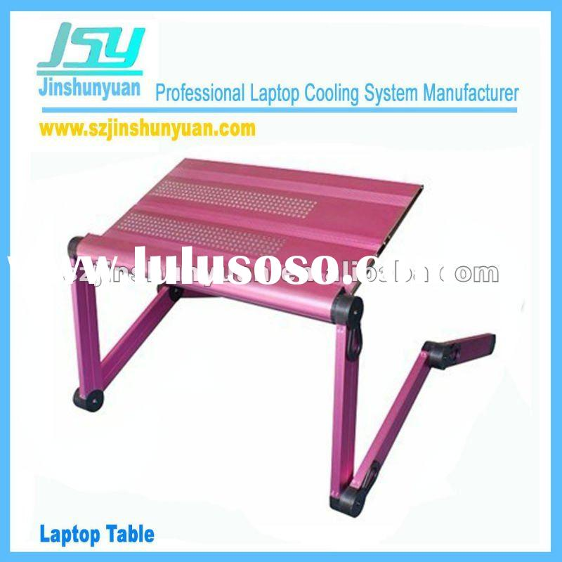 Folding And Portable Aluminum Alloy Laptop Desk Stand