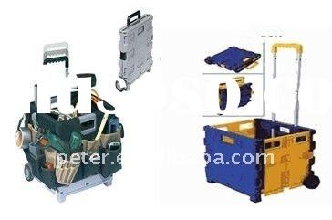 Folding shopping cart portable folding shopping cart