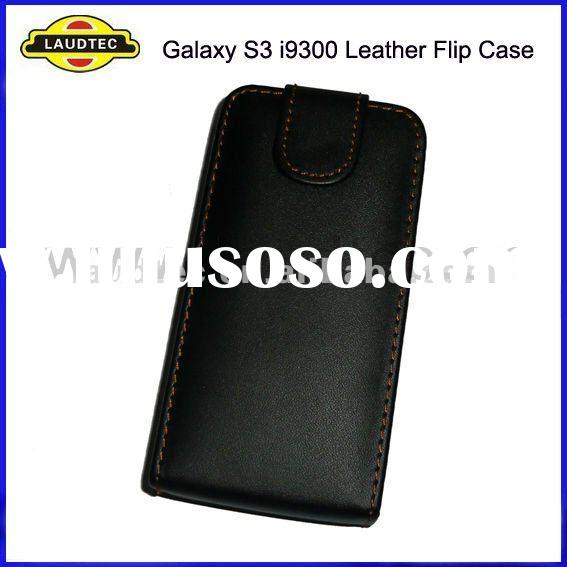 For Samsung Galaxy S3 i9300, Leather Flip Case Cover, New Arrival, Laudtec