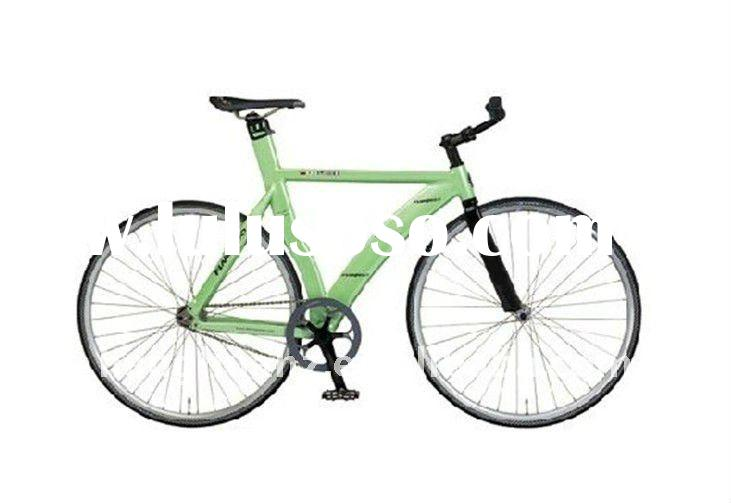 HH-FG1104 fixed gear bike with green frame
