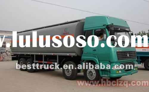 HOWO fuel delivery trucks dimensions for sale